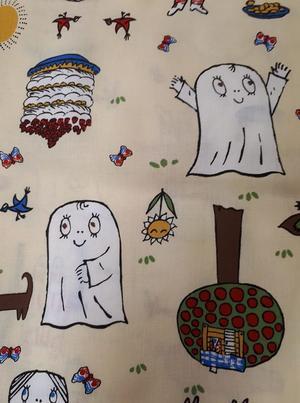 Spöket Laban och Lilla Anna gul 290*31 cm